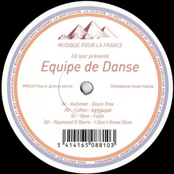 ed-isar-presents-various-artists-equipe-de-danse-ep-musique-pour-la-danse-cover
