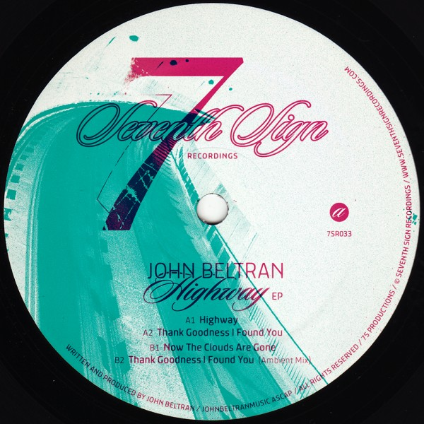 john-beltran-highway-ep-seventh-sign-recordings-cover