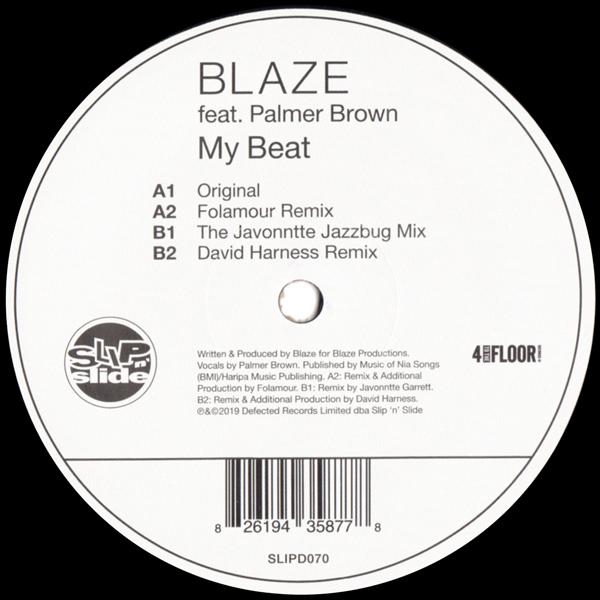 blaze-feat-palmer-brown-my-beat-folamour-javonntte-david-harness-derrick-carter-remixes-slip-n-slide-cover