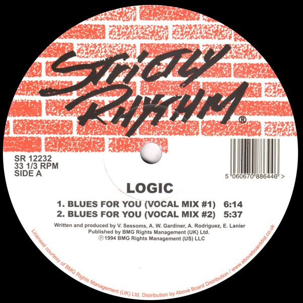 logic-blues-for-you-strictly-rhythm-cover