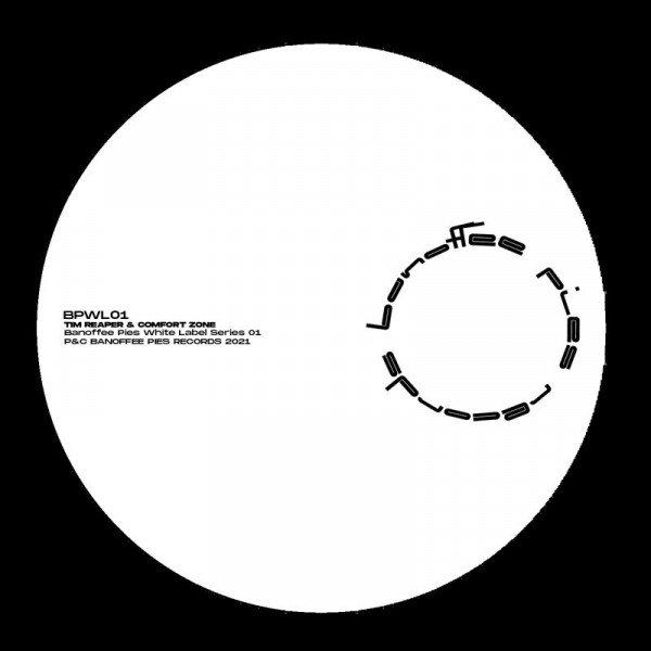 tim-reaper-comfort-zone-banoffee-pies-white-label-series-01-pre-order-banoffee-pies-cover