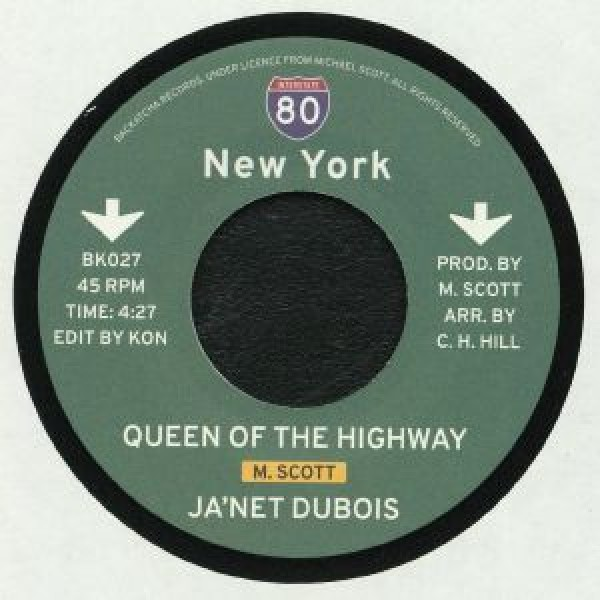 janet-dubois-jady-kurrent-kon-queen-of-the-highway-kon-edit-backatcha-records-cover