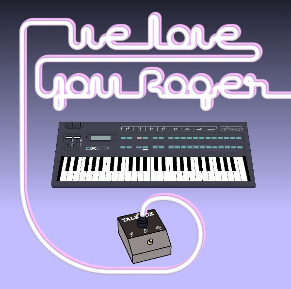 various-artists-we-love-you-roger-lp-neon-finger-cover