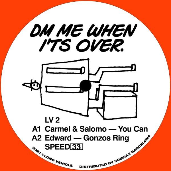carmel-salomo-edward-lara-dm-me-when-its-over-long-vehicle-cover