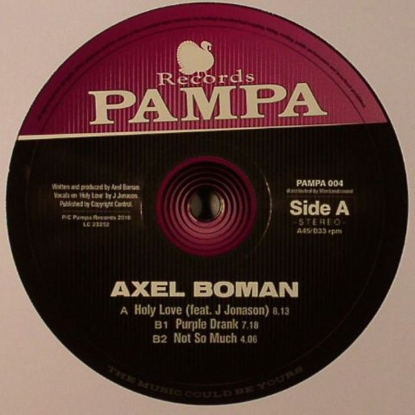 axel-boman-holy-love-pampa-records-cover