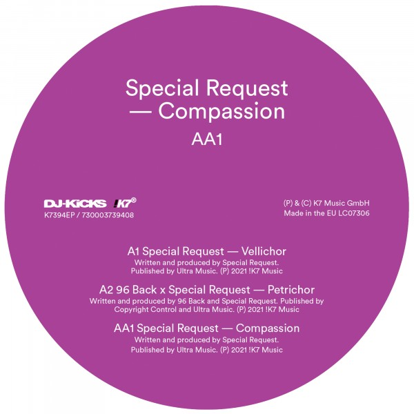 special-request-compassion-k7-records-cover