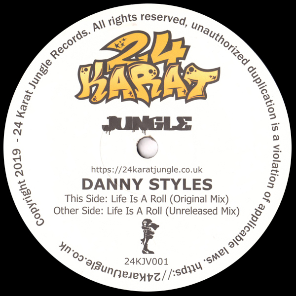 danny-styles-life-is-a-roll-24-karat-jungle-cover