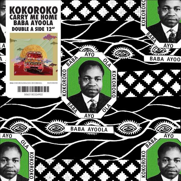 kokoroko-baba-ayoola-carry-me-home-brownswood-recordings-cover