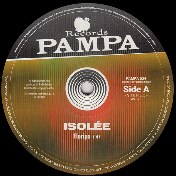 isolee-floripa-ep-pampa-records-cover