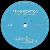 peverelist-kowton-raw-code-junked-hessle-audio-cover