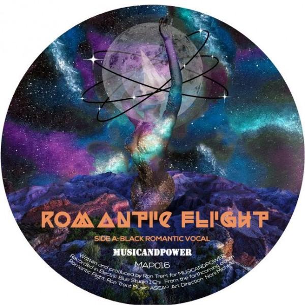 ron-trent-black-romantic-romantic-flight-music-power-cover