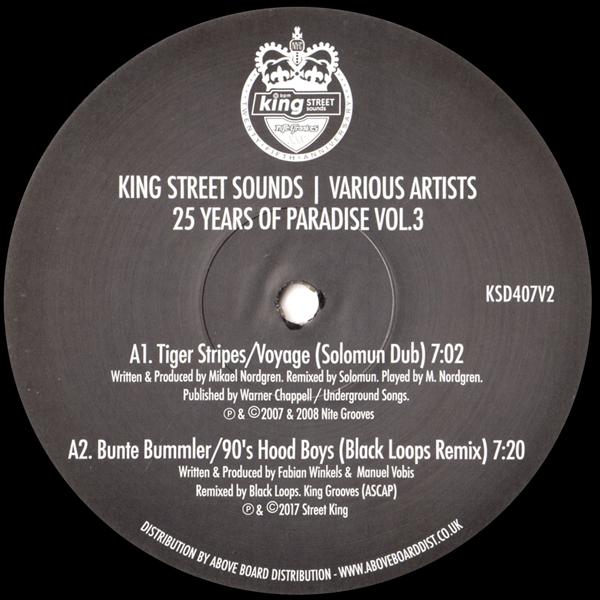 kerri-chandler-tiger-stripes-bunte-bummler-25-years-of-paradise-vol-3-king-street-sounds-cover
