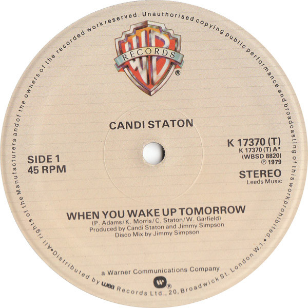candi-staton-when-you-wake-up-tomorrow-used-vinyl-vg-sleeve-vg-warner-brothers-cover