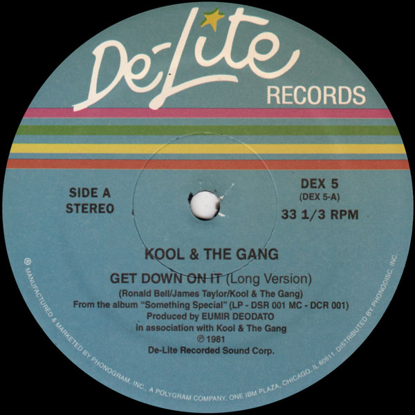 Kool The Gang Summer Madness Funky Stuff Hollywood