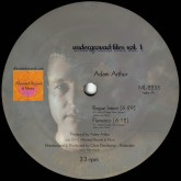 adam-arthur-michael-kuntzman-underground-files-vol-1-alleviated-records-cover
