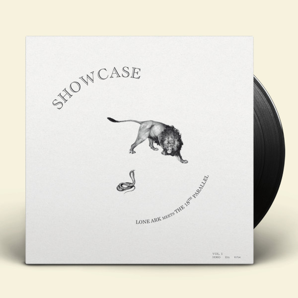 lone-ark-meets-the-18th-parallel-showcase-vol-1-lp-fruits-records-cover