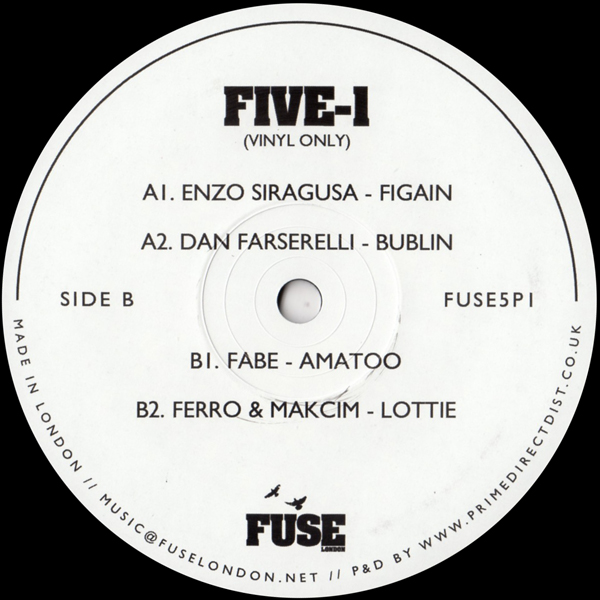 enzo-siragusa-various-artists-five-1-fuse-london-cover