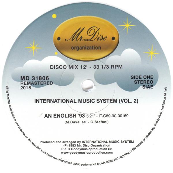 INTERNATIONAL MUSIC SYSTEM/IMS (Remastered 2018)/MR DISC