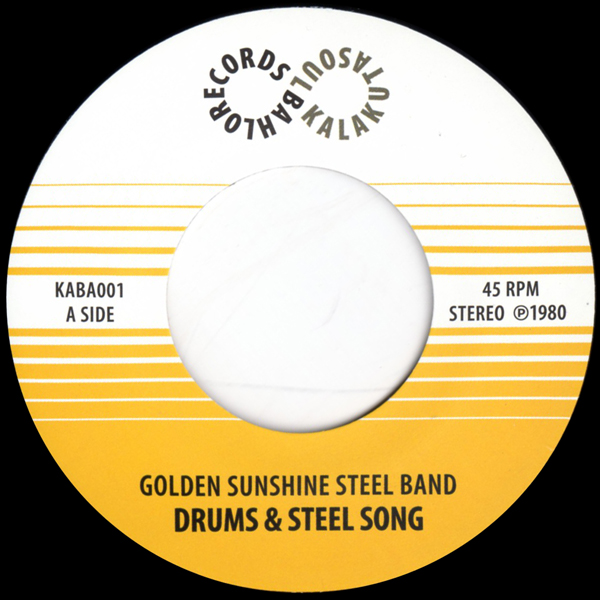 the-golden-sunshine-steel-band-drums-steel-song-kalakuta-soul-bahlo-records-cover