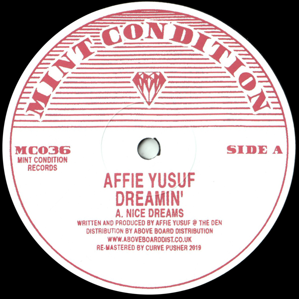 affie-yusuf-dreamin-mint-condition-cover