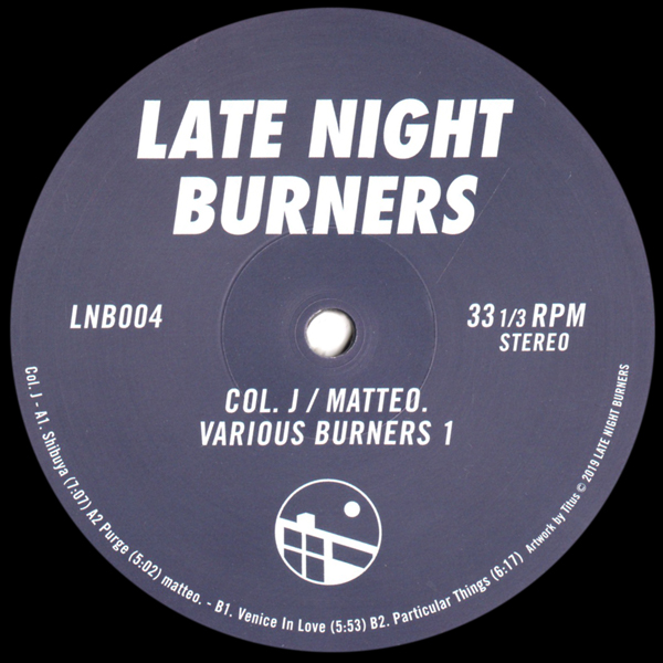 col-j-matteo-various-burners-vol-1-ep-late-night-burners-cover