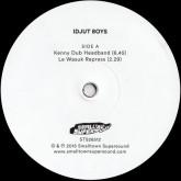 idjut-boys-kenny-dub-headband-le-wasuk-repress-smalltown-supersound-cover