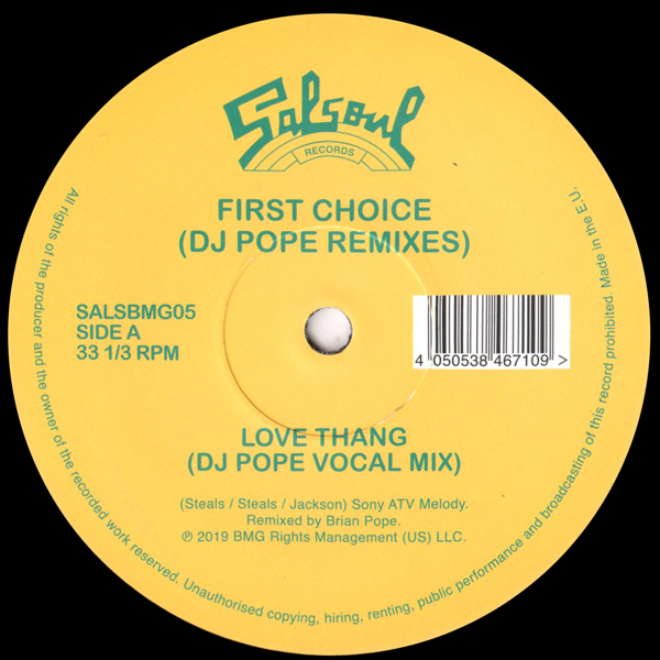 Love Thang (DJ Pope Remixes)