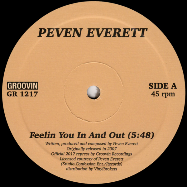 peven-everett-feelin-you-in-and-out-groovin-recordings-cover