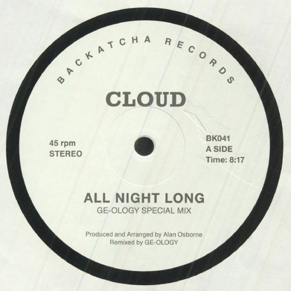 cloud-all-night-long-ep-backatcha-records-cover