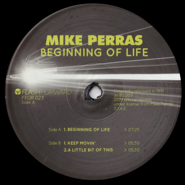mike-perras-beginning-of-life-ep-keep-movin-black-vinyl-flash-forward-cover