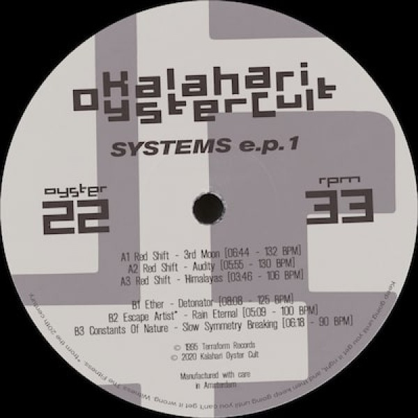 various-artists-systems-ep-1-pre-order-kalahari-oyster-cult-cover