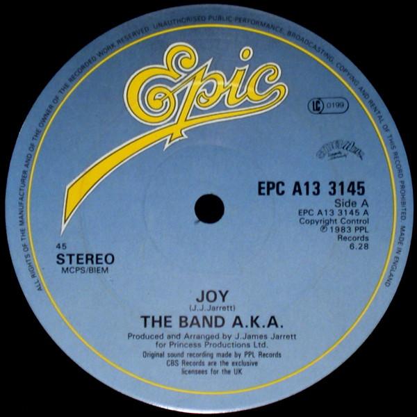 the-band-aka-joy-used-vinyl-vg-sleeve-generic-epic-records-cover