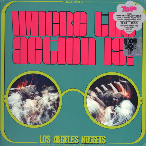 various-artists-where-the-action-is-los-angeles-nuggets-lp-rhino-records-cover