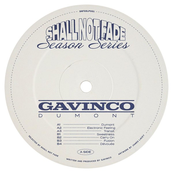 gavinco-dumont-lp-pre-order-shall-not-fade-cover