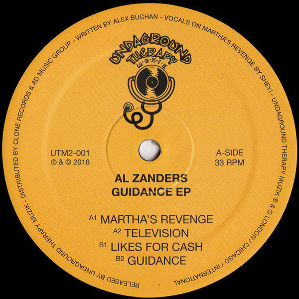 al-zanders-guidance-ep-undaground-therapy-muzik-cover