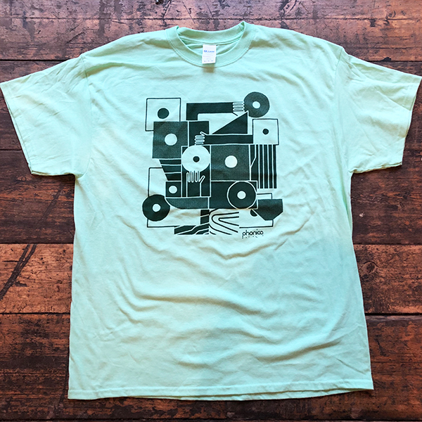 phonica-records-hands-and-sleeves-light-green-t-shirt-large-phonica-merchandise-cover