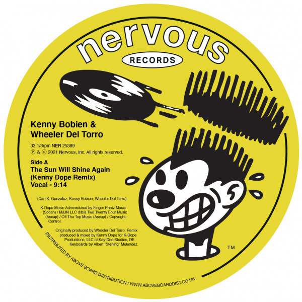 kenny-bobien-wheeler-del-torro-the-sun-will-shine-again-kenny-dope-remix-nervous-records-cover