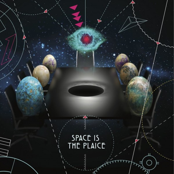 various-artists-space-is-the-plaice-lp-ltd-colour-vinyl-edition-pussyfoot-records-cover