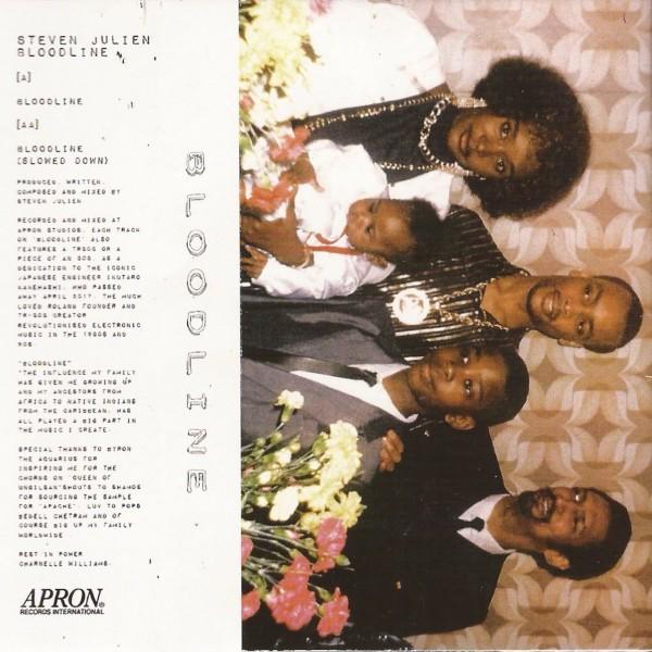 9d6dc400b STEVEN JULIEN Bloodline Slowed Down APRON - Vinyl Records ...