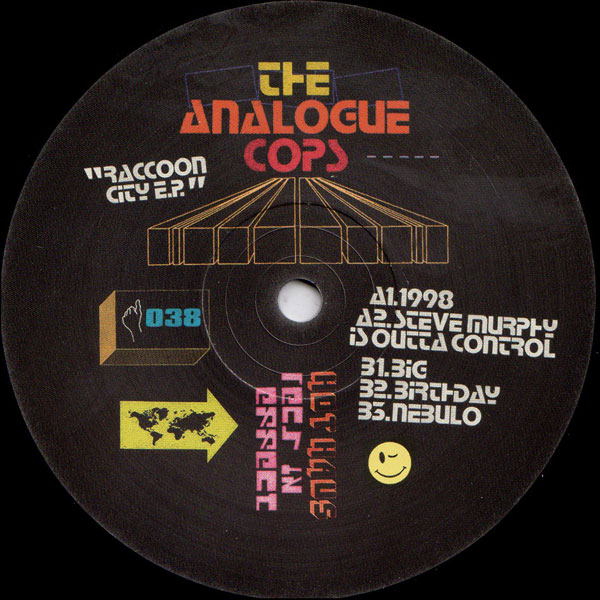 the-analogue-cops-racoon-city-ep-hot-haus-recs-cover
