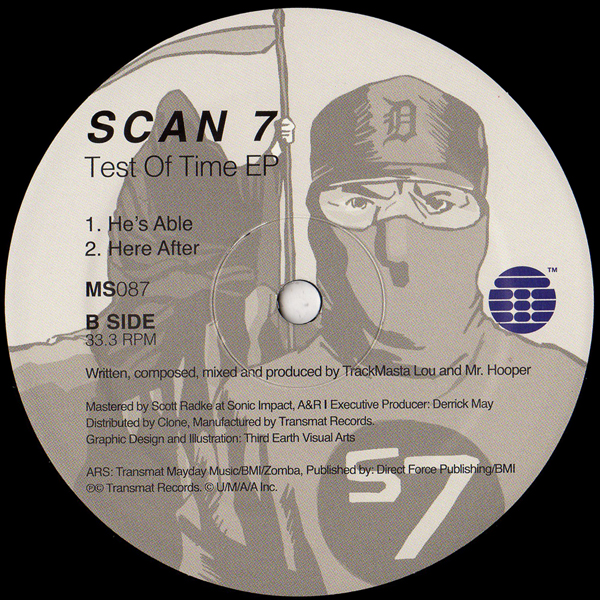 SCAN 7/Between Worlds LP/DEEPTRAX - Vinyl Records